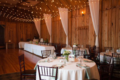 Deanna and Mike's summer wedding at The Pavilion on Crystal Lake on June 6, 2014.