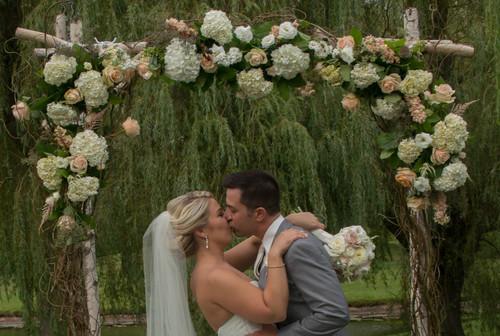 Christina & Steve's (our Executive Chef!) summer wedding at The Barns at Wesleyan Hills.