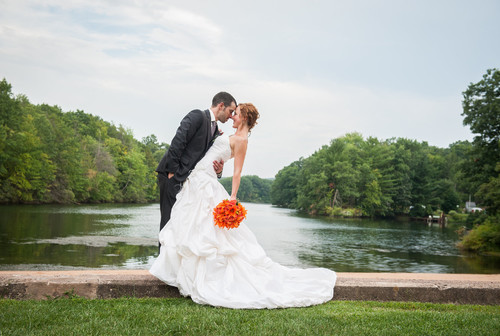 Lindsay & Chris's autumn wedding at the Pavilion on Crystal Lake on September 6, 2014
