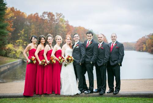 Alicia & Seba's wedding reception at The Pavilion on Crystal Lake on Saturday, November 1, 2014.