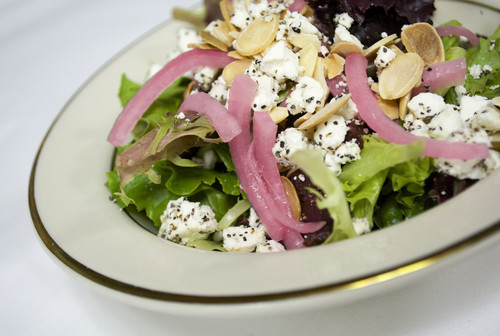 Fresh, beautiful, and seasonal salad selections.