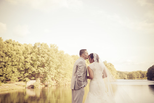 Johanna & Christian's summer wedding at The Pavilion on Crystal Lake.