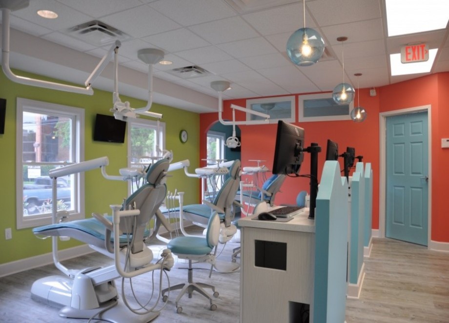 Children can have fun in our warm and inviting dental setting