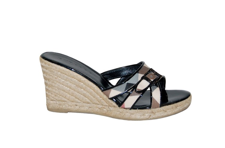 burberry wedge sandals - Wedge Sandals