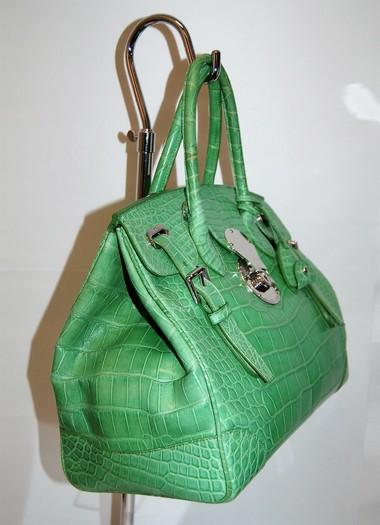 002e21726a4b Ralph Lauren Alligator Ricky Bag