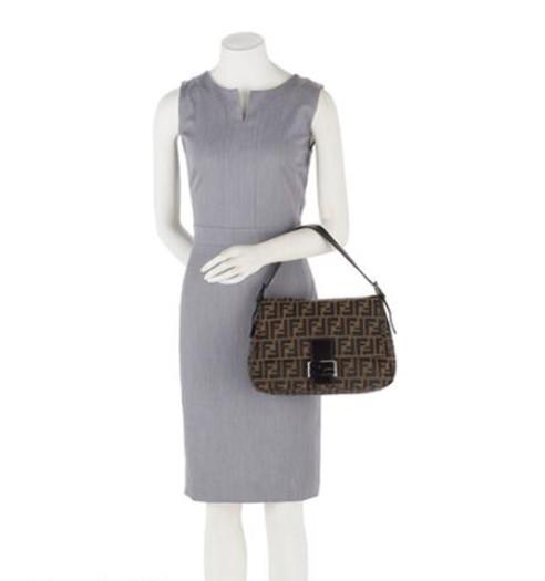 8c610108aea1 Fendi Zucca Mama Forever Shoulder Bag