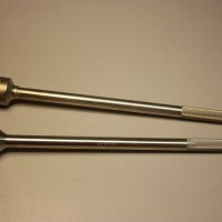 Medical tool machined and welded (hollow balloon end)