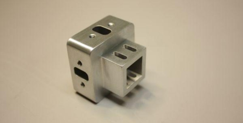Machined Aluminum Component