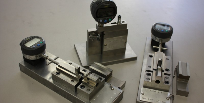 Fixtures and Tooling High precision inspection fixtures.