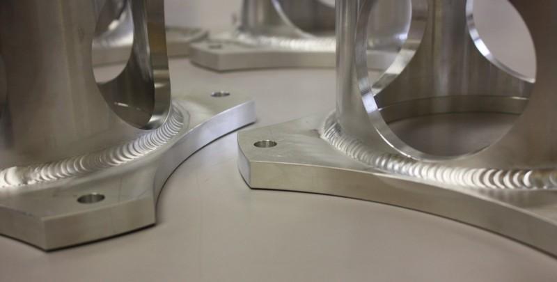 Aluminum Aerospace Tooling component