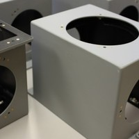 Electronics enclosure welded per NAVSEA S9074-AR-GIB-010-278
