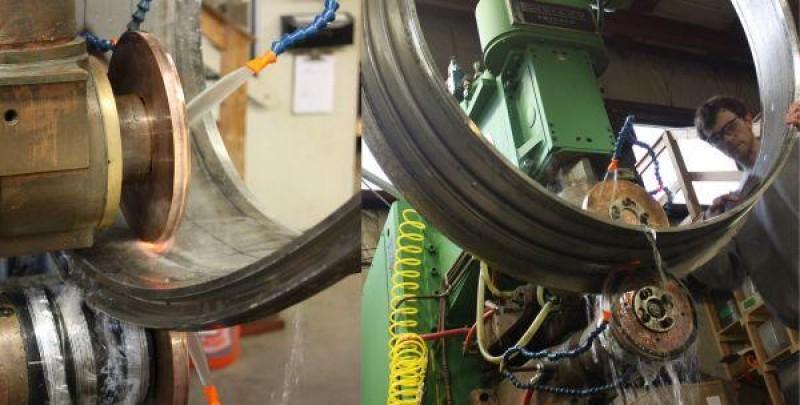 Resistance Welding Inconel Aerospace Component