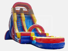 Mega Blaster - 20' Bounce House Waterslide WET or DRY, Roo's Wet or Dry Slides - Jacksonville Florida Bounce House Rentals
