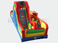 Carnival Course Challenge Bounce House Slide