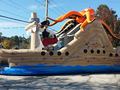 Shipwreck Double Lane Slide  20' Bounce House Waterslide WET or DRY