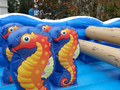 Under the Sea Ocean Toddler  Course Bounce House Hopper