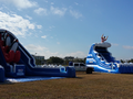 Tsunami Slide  22'  Bounce House Waterslide WET or DRY