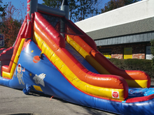 USA Rocket Slide 16' Bounce House Waterslide Wet or Dry, Roo's Wet or Dry Slides - Jacksonville Florida Bounce House Rentals