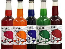 Sno Cone Syrup 32 oz, Roo's Concession & Frozen Drink Machines