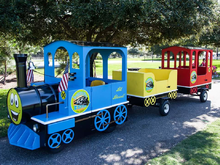 Trackless Train, Obstacle Courses & Interactive Games - Jacksonville Florida Bounce House Rentals