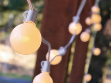White Pearl Lights (Tent or Venue Lighting), Roo's Tents, Tables, Chairs and more