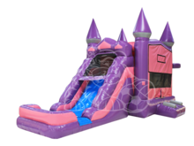Fairy Princess Modular 4-1 Combo Bounce House Hopper  WET or DRY, Roo's Hopper Combos - Jacksonville Florida Bounce House Rentals