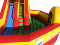 Play Ground  Slide  Combo 14' Bounce House Waterslide WET or DRY
