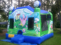 Sponge Bob Square Pants 4-1 Combo Bounce House Hopper WATER SLIDE or DRY SLIDE