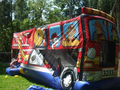 Firetruck Theme 3-1 Combo Bounce House Hopper WATER SLIDE or DRY SLIDE