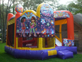 Girl Thing Theme 5-1 3D Combo Bounce House Hopper  WATER SLIDE or DRY SLIDE