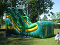 Tropical Slide  18' Bounce House Waterslide WET or DRY