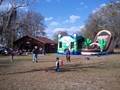 Western Theme Slide 19' Bounce House Waterslide WET or DRY