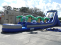 Giant Amazon Waterfall  22'  Bounce House Waterslide WET or DRY