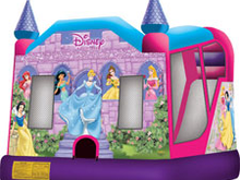 Disney Princess 4-1 Combo Bounce House Hopper WET or DRY, Roo's Hopper Combos - Jacksonville Florida Bounce House Rentals