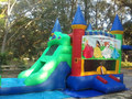Wacky Castle Modular 4-1 Combo Bounce House Hopper WET or DRY