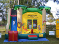 Jungle Theme 4-1 Combo Bounce House Hopper