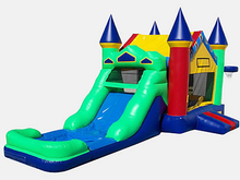 Wacky Castle Modular 4-1 Combo Bounce House Hopper WET or DRY, Roo's Hopper Combos - Jacksonville Florida Bounce House Rentals