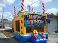 Modular Birthday Cake Bounce House Hopper