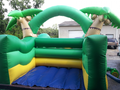 Tropical Island Toddler Obstacle Bounce House Hopper