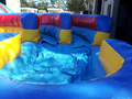 Double Corkscrew - 19' Bounce House Waterslide WET or DRY