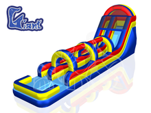 The Giant Pipeline Bounce House Waterslide, Roo's Wet or Dry Slides - Jacksonville Florida Bounce House Rentals