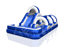 Splash Zone Slide - 14' Bounce House Waterslide WET or DRY, Roo's Wet or Dry Slides - Jacksonville Florida Bounce House Rentals