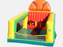Basketball Toss Inflatable, Obstacle Courses & Interactive Games - Jacksonville Florida Bounce House Rentals