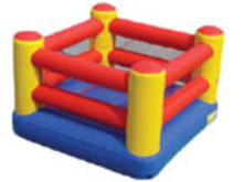 Boxing Ring Bounce House Hopper, Obstacle Courses & Interactive Games - Jacksonville Florida Bounce House Rentals