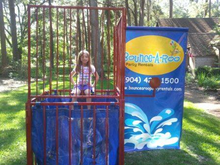 Dunk Tank#3, Obstacle Courses & Interactive Games - Jacksonville Florida Bounce House Rentals
