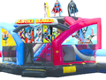 Justice League Double Challenge Bounce House Hopper WET or DRY