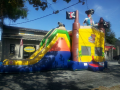 Pirate Treasure 4-1 Combo Bounce House Hopper  WET or DRY