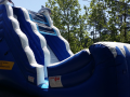 Dolphin Wave Slide  18' Bounce House Waterslide WET or DRY