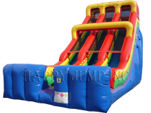 The Edge  24' Bounce House Slide DRY ONLY, Roo's Wet or Dry Slides - Jacksonville Florida Bounce House Rentals