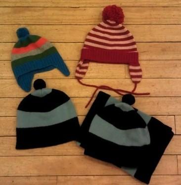 Cashmere hats!